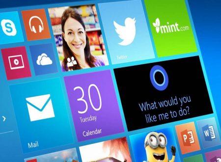 Introduzione a Windows 10