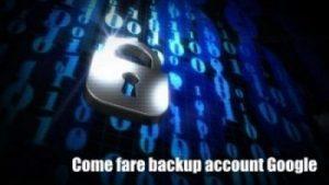 Backup di foto e video su Gmail
