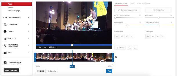 images-tagliare un video da Youtube