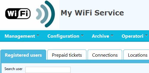 Realizzare un hotspot con My WiFi Service