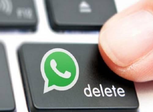 WhatsApp, cancellare i messaggi dopo 7 minuti