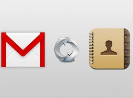 Come sincronizzare la rubrica con Gmail