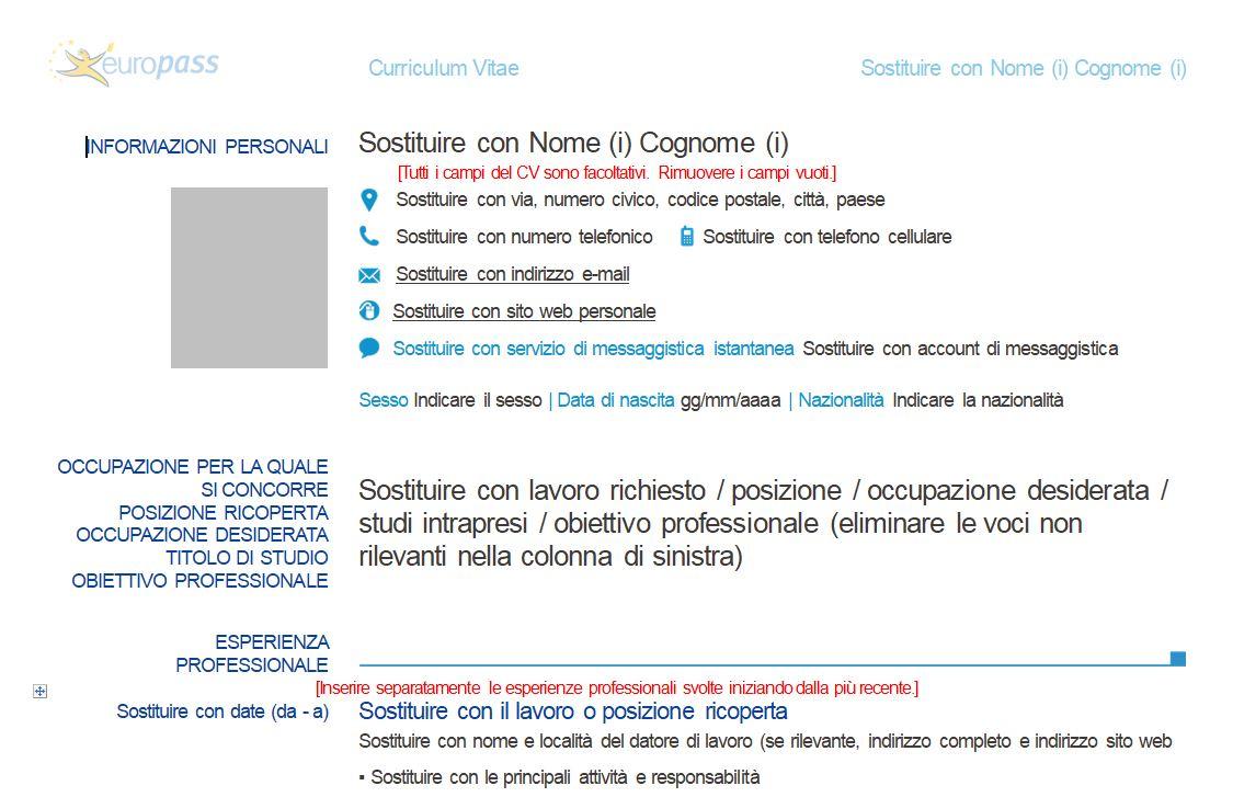 Come Creare Curriculum Vitae Blog Di Aldo Russo Informatica E