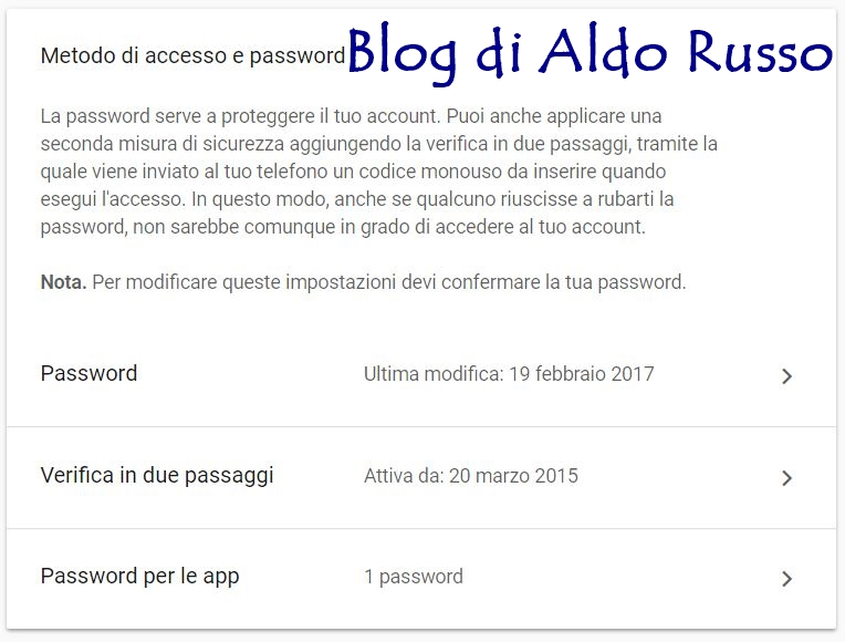 images-metodo di accesso e password