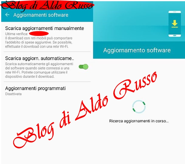 images-aggiornamenti software android