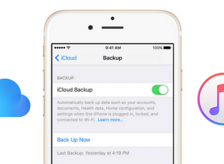 iPhone, hai mai pensato il backup?