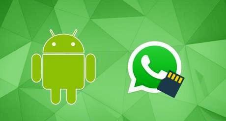 WhatsApp su SD?