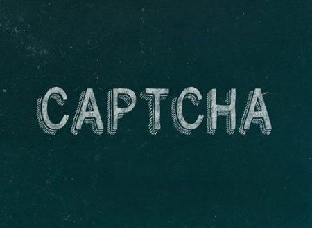 CAPTCHA che fare?