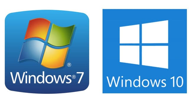 da windows 7 a windows 10