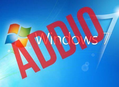 Il 14 gennaio 2020 terminerà il supporto per Windows 7, che fare?