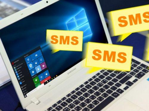 E' possibile inviare un SMS dal PC?