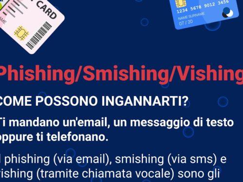 Frodi online: phishing, vishing e smishing
